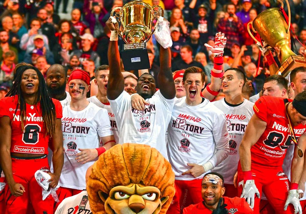 Die 12. Deutsche Meisterschaft für die New Yorker Lions! Fotos: Reichert/Täger