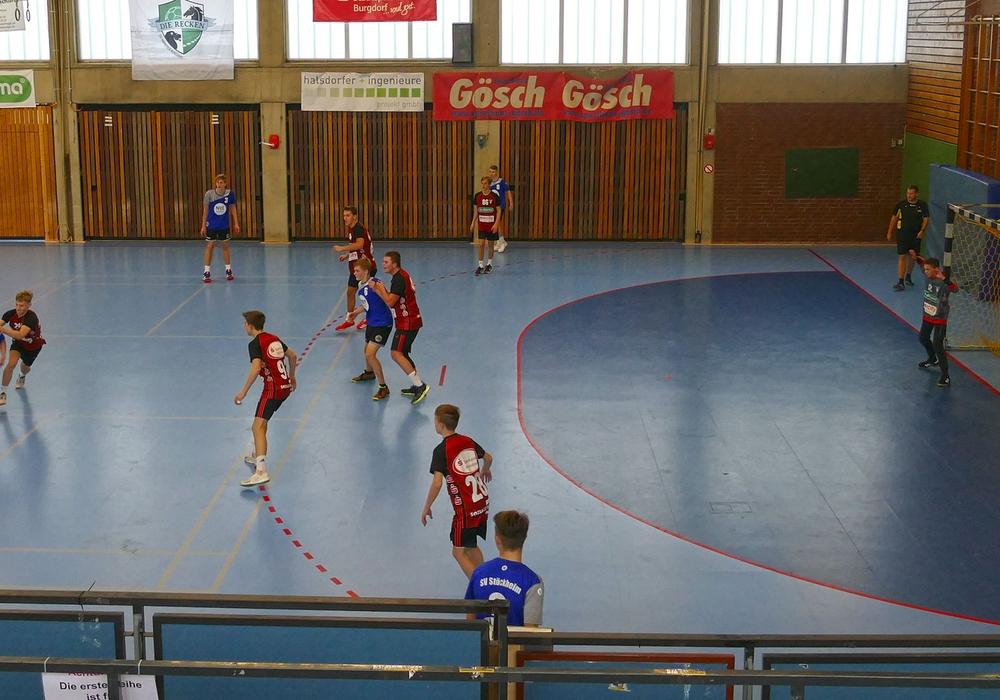Die Stöckheimer verloren das Spitzenspiel in Burgdorf. Foto: Rau