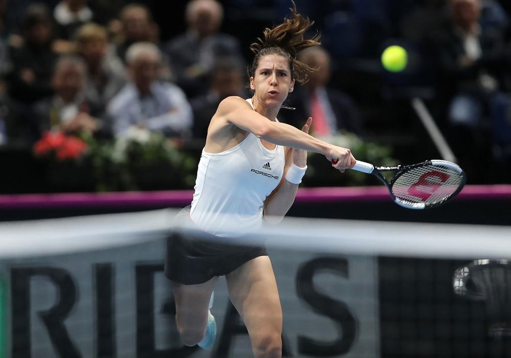 Andrea Petkovic verlor gegen gegen Aryna Sabalenka. Foto: Agentur Hübner