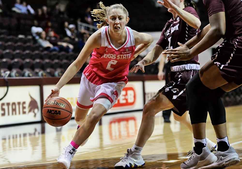 Toshua Leavitt schließt sich Braunschweig an. Foto: Texas State University
