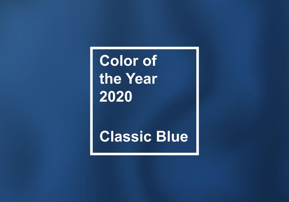 """Pantone """"Classic Blue"""" ist DIE Trendfarbe 2020"""