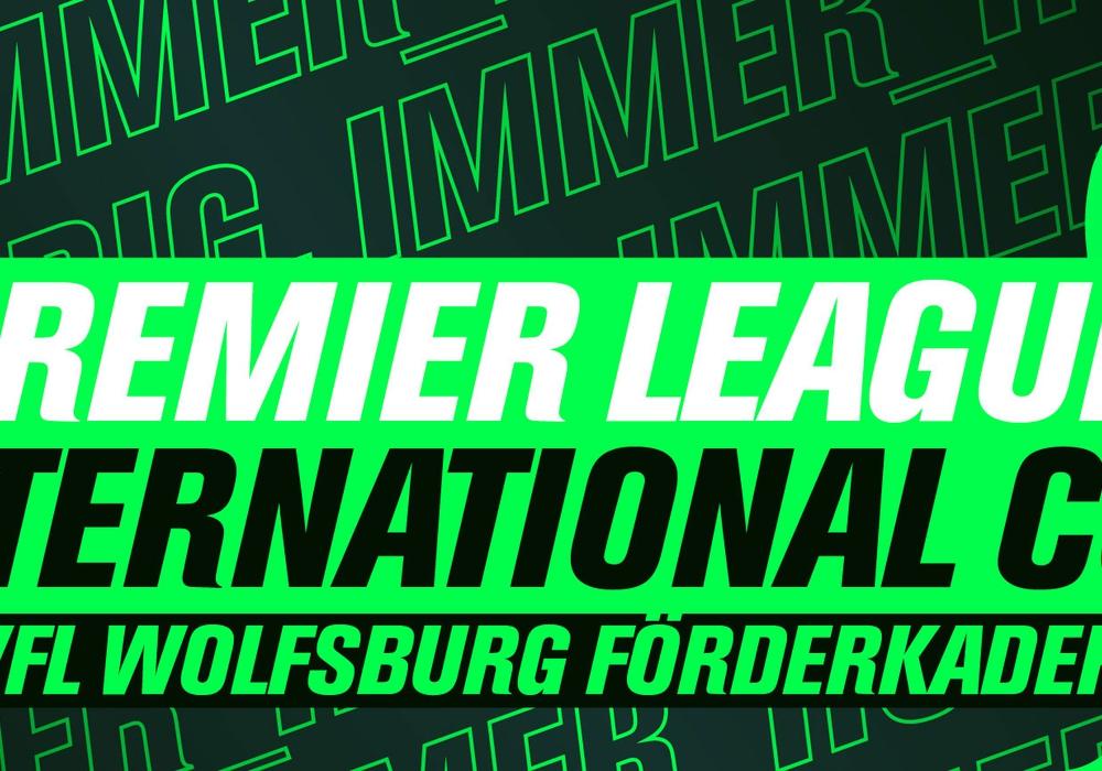 Der Förderkader des VfL misst sich auch in der neuen Saison wieder mit Teams von der Insel. Grafik: VfL Wolfsburg