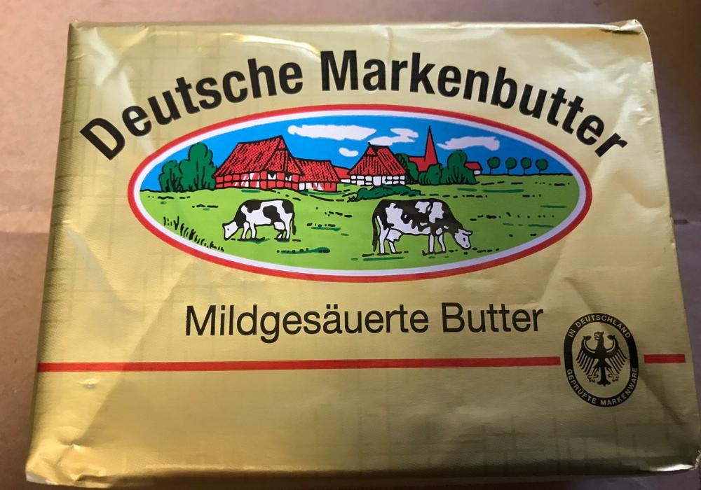 Deutsche Markenbutter. Foto: Marc Angerstein