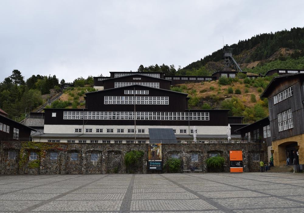 """Martin Kind und Jörg Schmadtke kommen am 20. November zur Diskussionsreihe """"Der Berg ruft – Zukunft fördern"""" an den Rammelsberg. Foto: Stadt Goslar"""