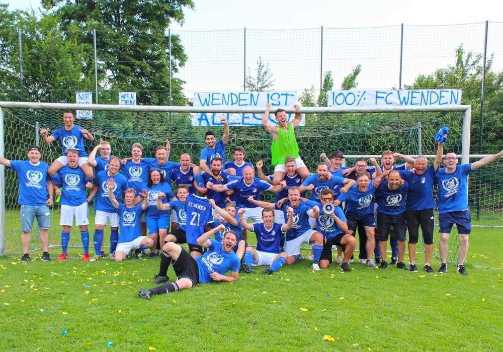 Zurück im Bezirk: FC Wenden. Foto: Frank Vollmer