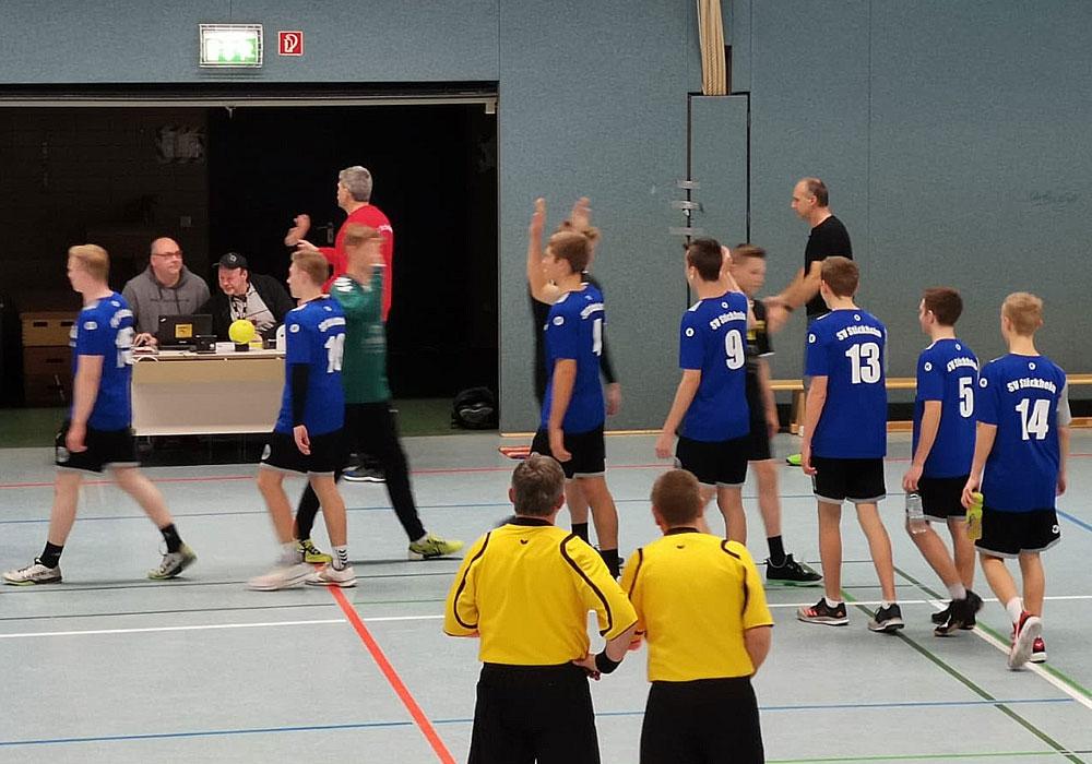Die B-Jugend des SV Stöckheim gewann in Northeim.