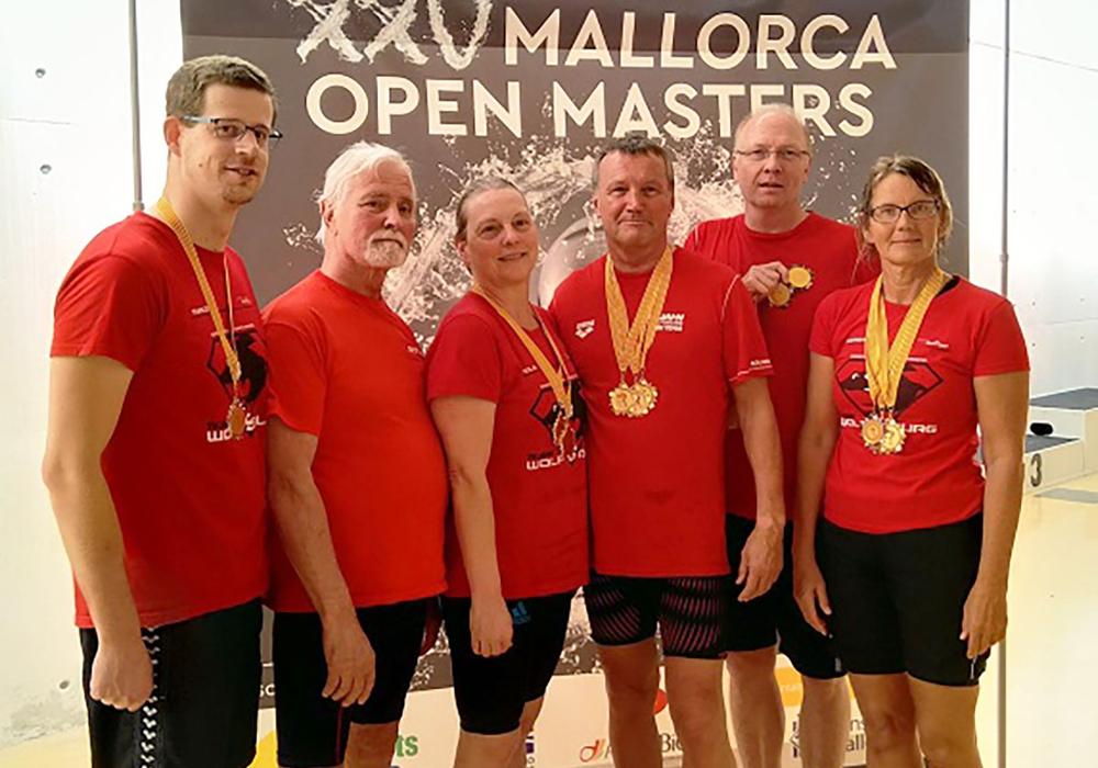Marco Thiel, Peter Koller, Viola Friedrichs, Axel Turowski, Matthias Koch, Caren Koch (vlnr). Foto: privat