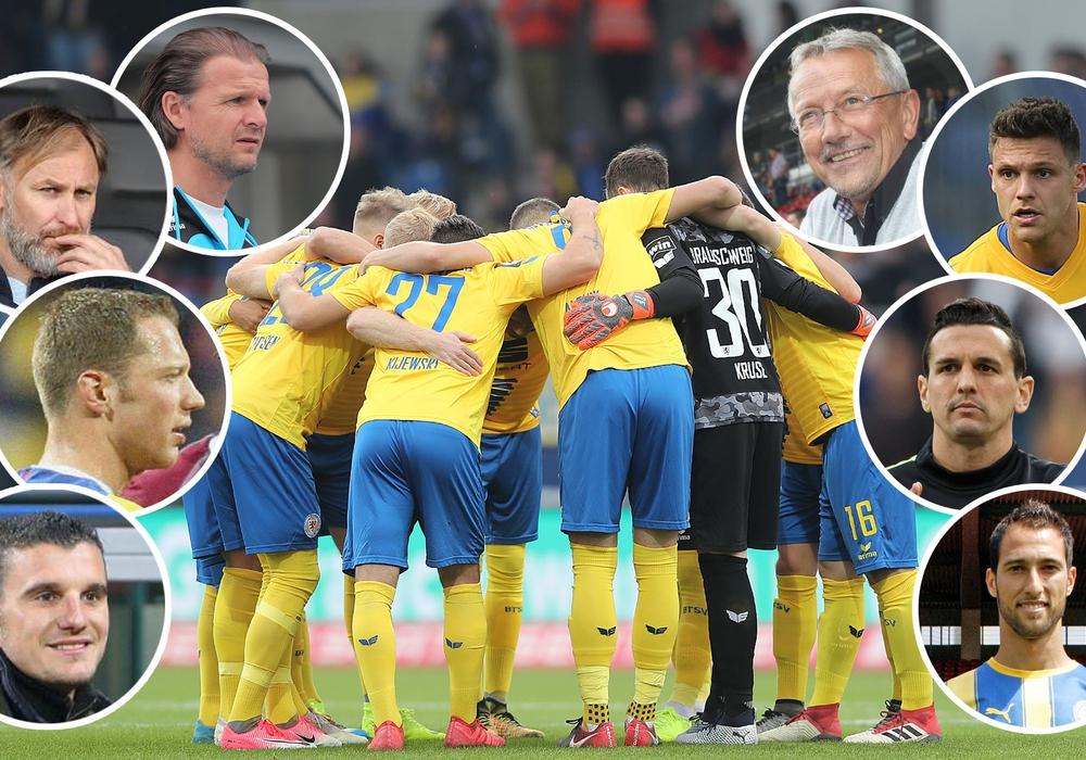 Wir haben bei ehemaligen Löwen nachgefragt, warum Eintracht Braunschweig am Samstag die Klasse hält. Fotos: Agentur Hübner/Vollner