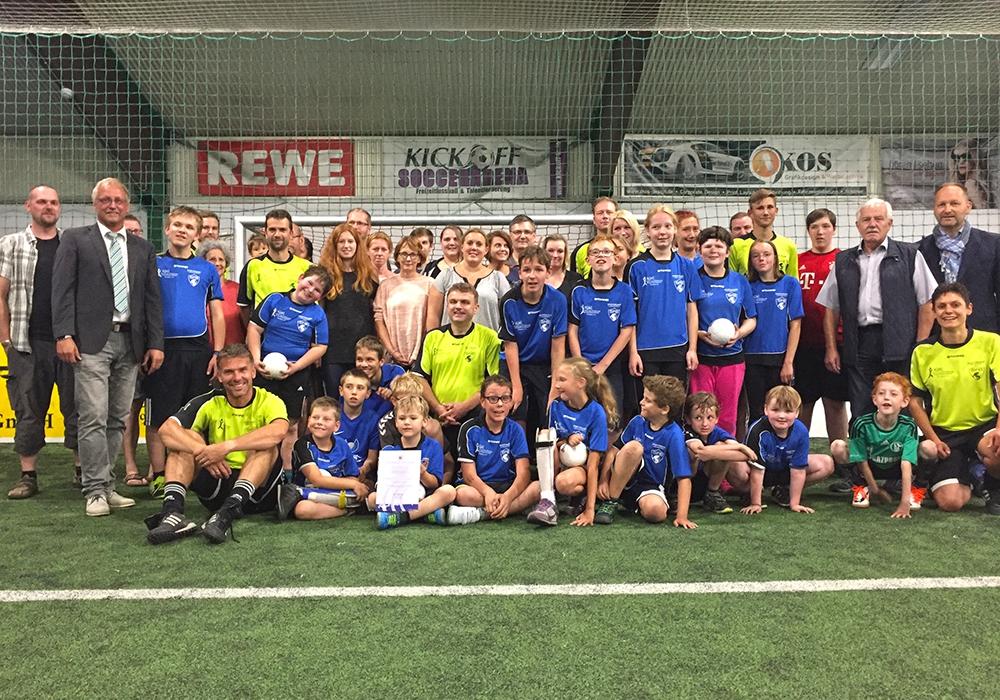 Ausgezeichnete Integration: Sportfeunde Braunschweig. Foto: Vollmer
