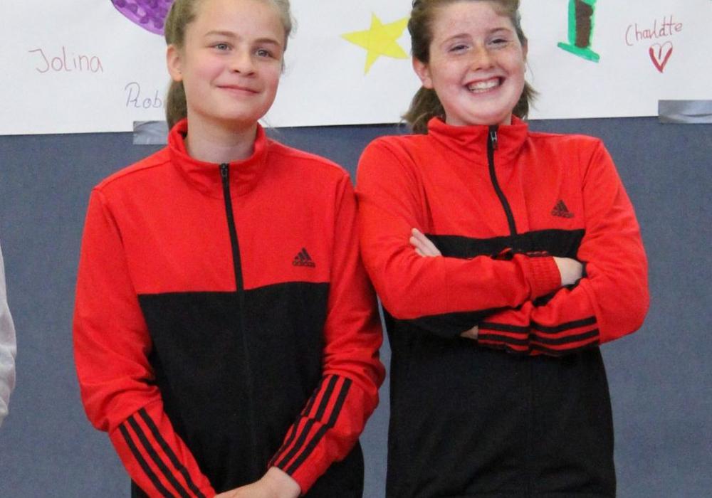 Nele Lehmann und Minou Pohlai vertreten den RSV Frellstedt. Foto: Verein