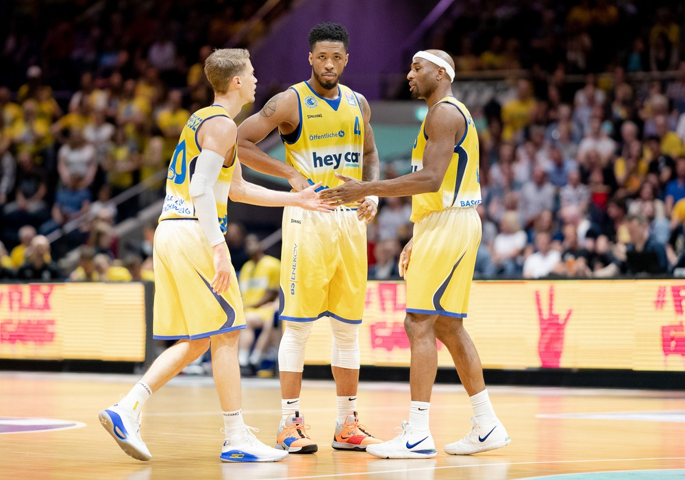 Nutzen die Basketball Löwen die Chance zu den Playoffs? Foto: Reinelt/PresseBlen.de
