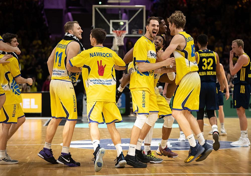 Erwartungsgemäß mit der Lizenz: Basketball Löwen Braunschweig. Foto: Moritz Eden/Citipress GmbH/Archiv