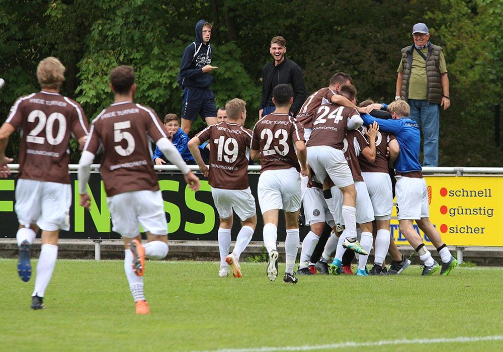 Konnten sich am 15. Spieltag auf fünf Punkte absetzen: Freie Turner Braunschweig. Foto: Vollmer/Archiv