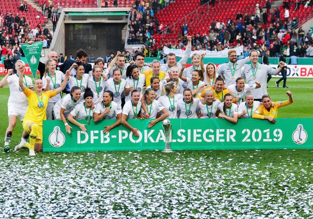 5. Finalsieg in Folge für die Frauen des VfL Wolfsburg. Foto: imago/Scheiber