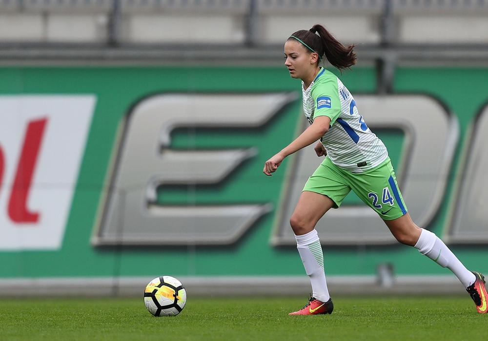 Hat bis 2022 verlängert: Joelle Wedemeyer.