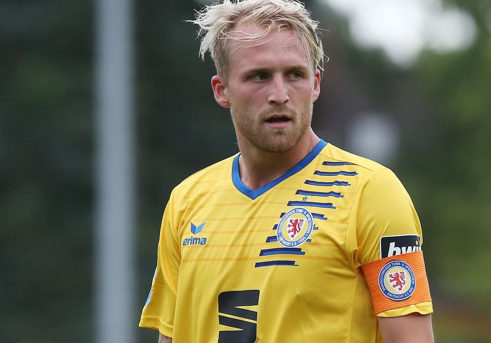 Philipp Hofmann verlässt Eintracht Braunschweig. Foto: Agentur Hübner/Archiv