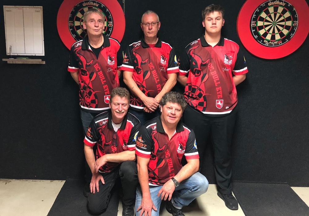 Die Bezirksligamannschaft DC Bull Eye am 4. Spieltag. Foto: privat