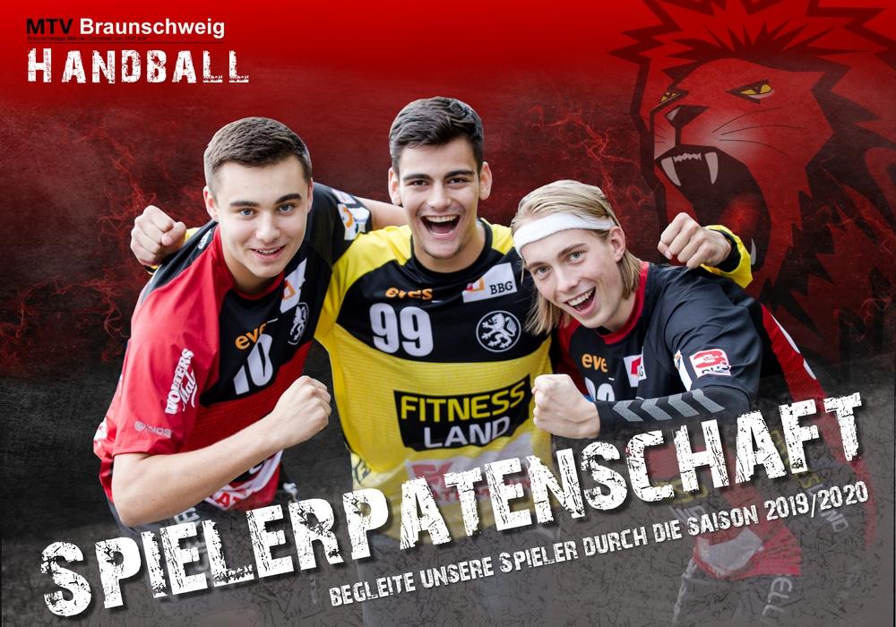 Jetzt Spielerpate für die neue Saison werden. Foto/Grafik: MTV Braunschweig