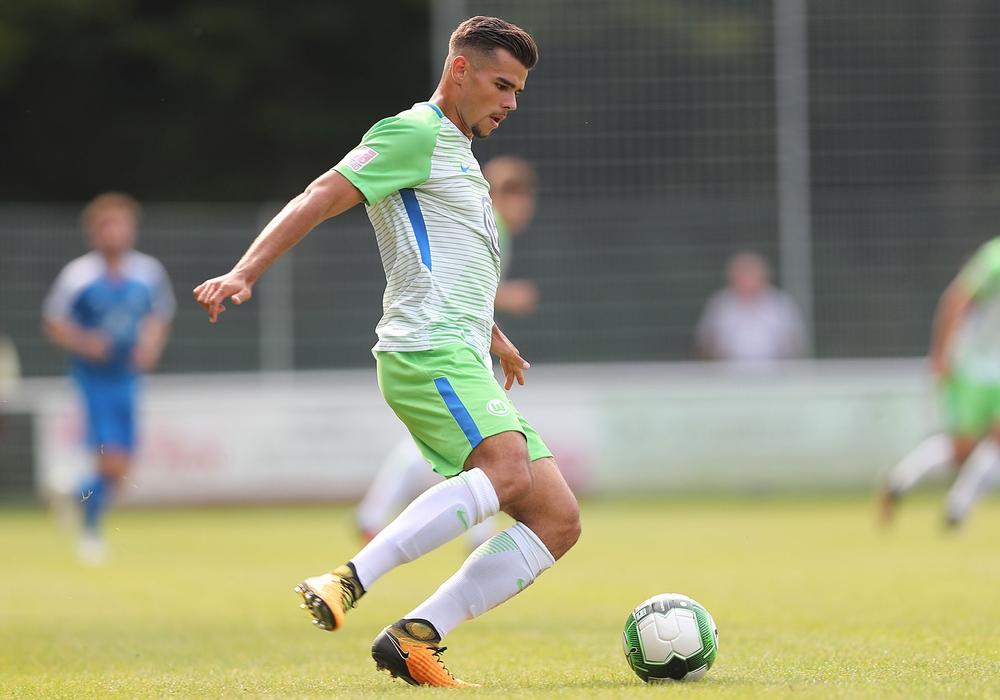 Robin Ziegele spielte 53 Mal in der Regionalliga für die Wölfe. Foto: Agentur Hübner