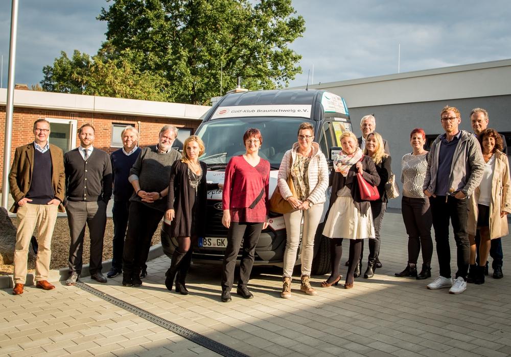 Sponsoren des Golfmobil Braunschweig Foto: Martin Wogan