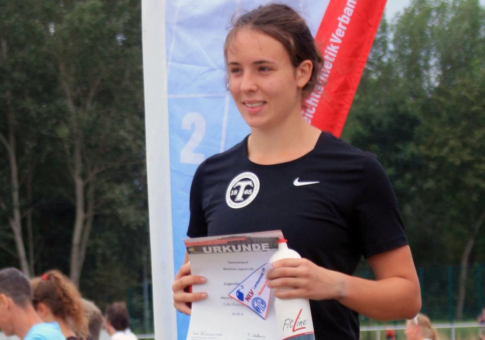 Platz 1 ins Braunschweig: Henriette Heinichen. Foto: privat