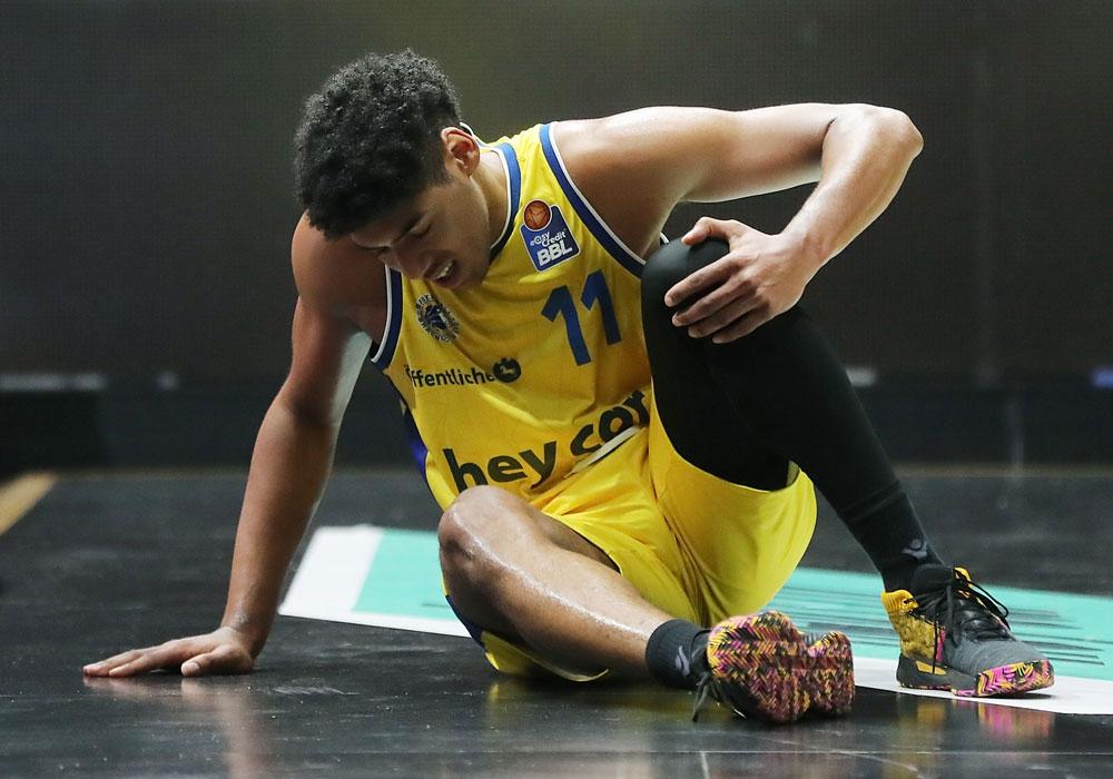 Kostja Mushidi gehört nicht mehr zum Team der Basketball Löwen. Archivbild