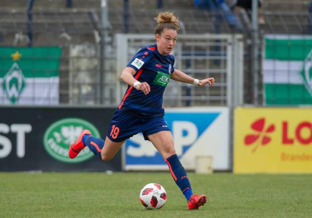Felicitas Rauch wechselt  vom 1. FFC Turbine zum VfL Wolfsburg. Foto: imago/foto2press