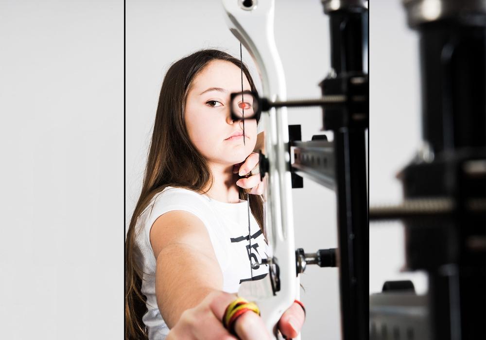 Johanna Heinzel vom Schützenverein Querum gewann Bronze in Biberach. Foto:Johanna Heinzel/privat