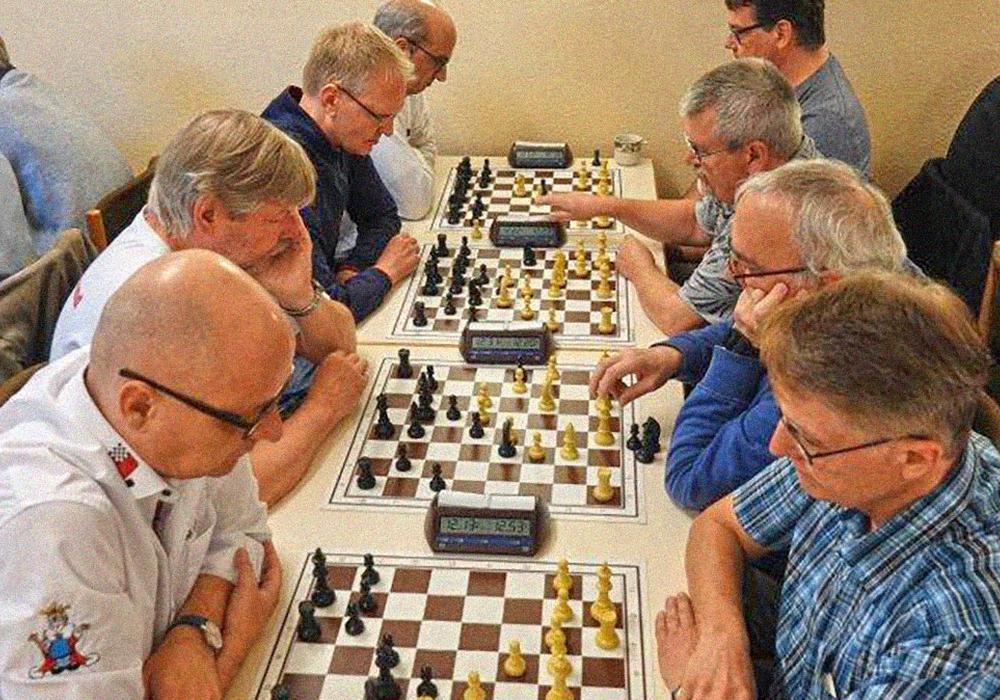 Die Senioren-Schnellschach-Mannschaft. Foto: Wolfgang Klettke