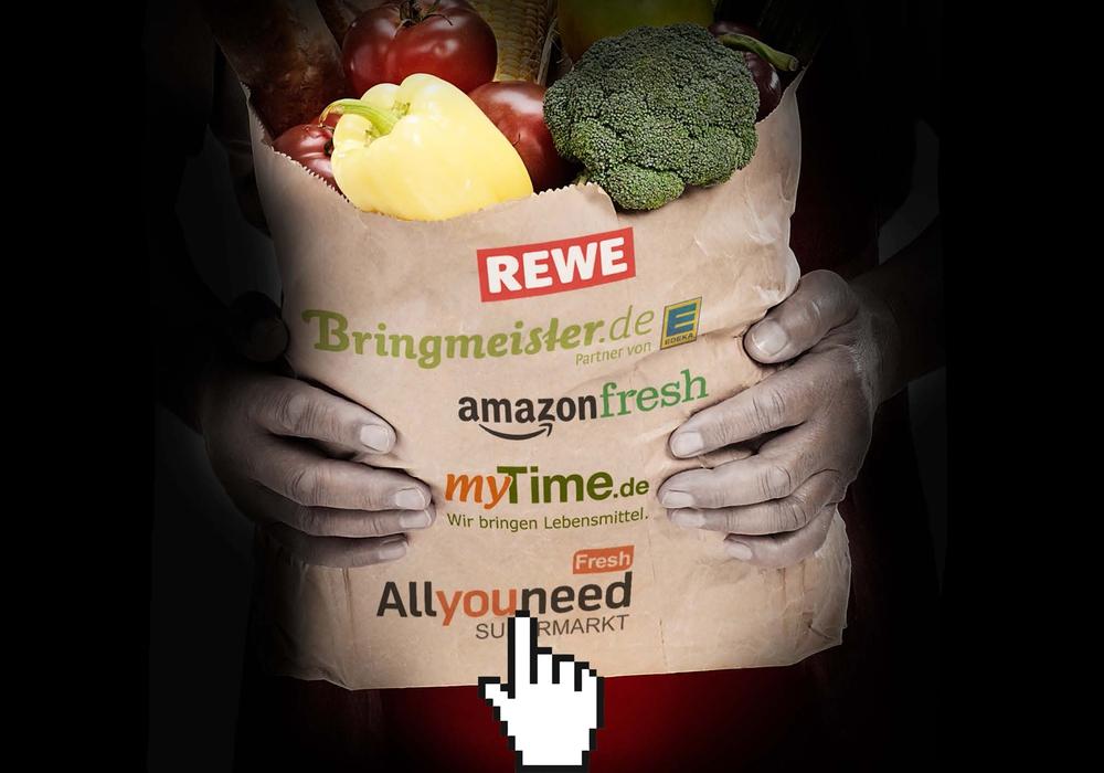 Der Online-Handel mit Lebensmitteln boomt. foodwatch hat fünf große Anbieter unter die Lupe genommen und Testkäufe durchgeführt. Foto: foodwatch