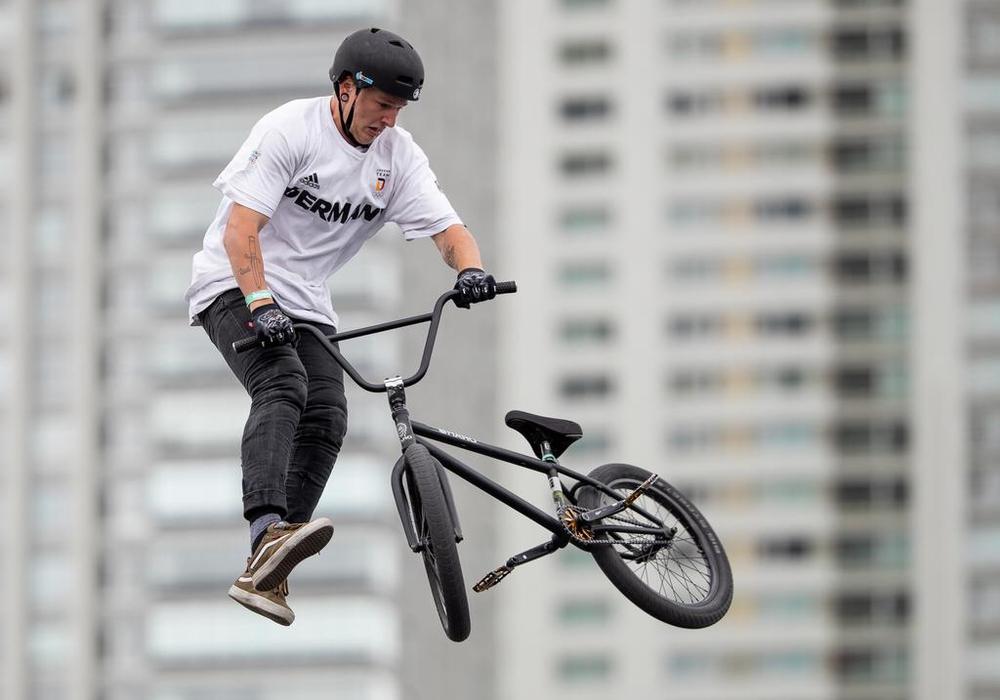 Evan Brandes beherrscht seine Disziplin. Nun gab es Gold in Buenos Aires. Foto: OIS/DOSB