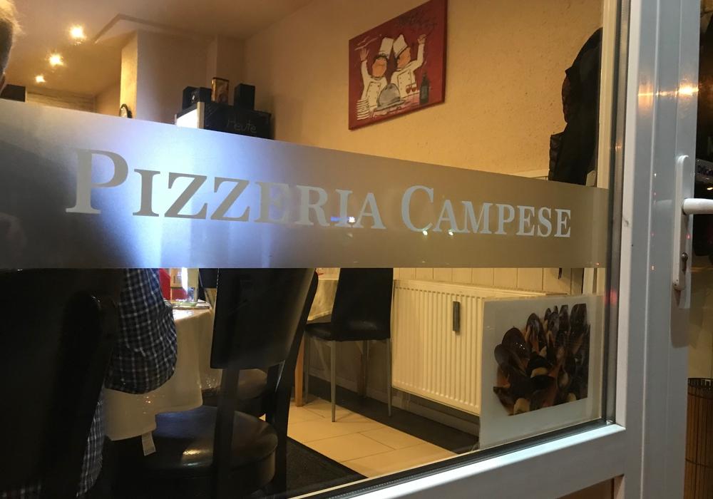 Pizzaria Campese in Salzgitter-Thiede. Mini-Gastraum aber wer nicht an Platzangst leidet kann hier sehr gutes italienisches Essen genießen.