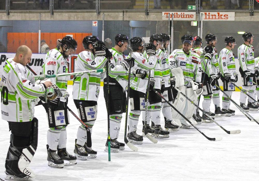 Start der Meisterrunde für die Salzgitter Icefighters.
