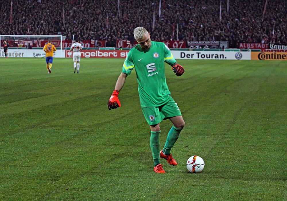 Weltklasse und untröstlich nach der Niederlage: Rafal Gikiewicz. Fotos: Bernhard Grimm