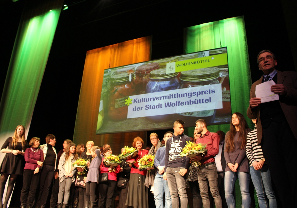 Zum ersten Mal wurde am gestrigen Mittwochabend der Wolfenbütteler Kulturvermittlungspreis verliehen. Foto/Videos: Jan Borner