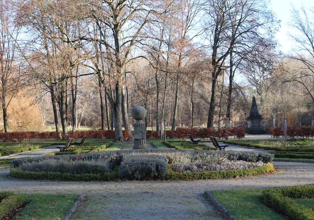 Der Vechelder Schlosspark. Foto: Frederick Becker