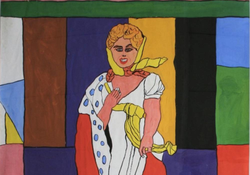 Kunstwerk: Josef Wittlich, Königin Luise von Preußen, 89,7x62,1cm,Sammlung Daniel Brenna, New York