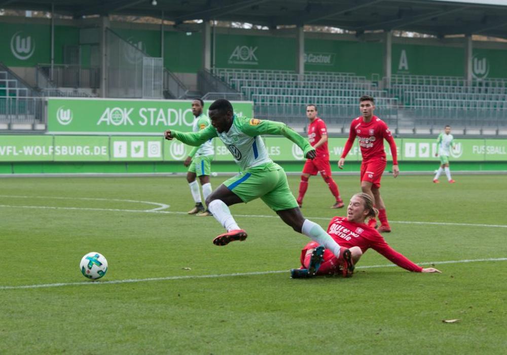 Enschede konnte den VfL nicht stoppen. Foto: Jens Bartels