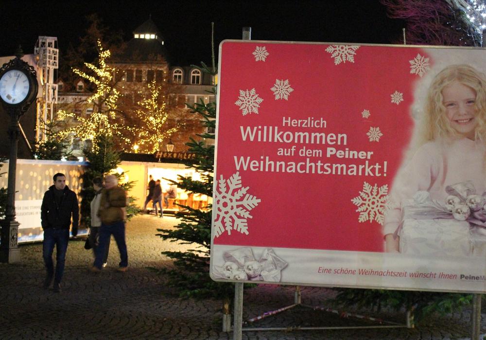 Weihnachtsmarkt Peine Foto: Frederick Becker