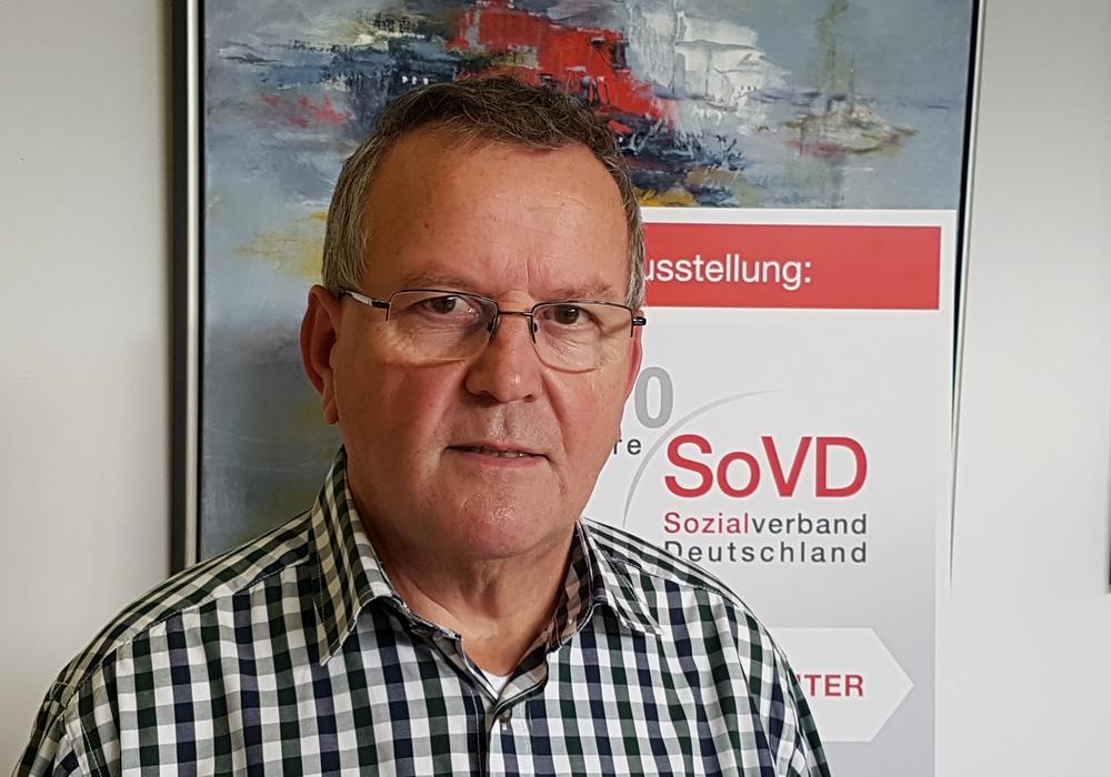 Ortsverbandsvorsitzender Reiner Knoll. Foto: SoVD