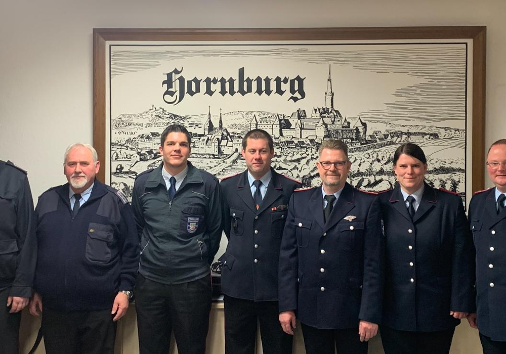 Von links: Carsten Köchy, Dennis Meyer, Kevin Fricke, Henry Heldt und Wolfgang Hesse bilden das neue Führungsgespann.