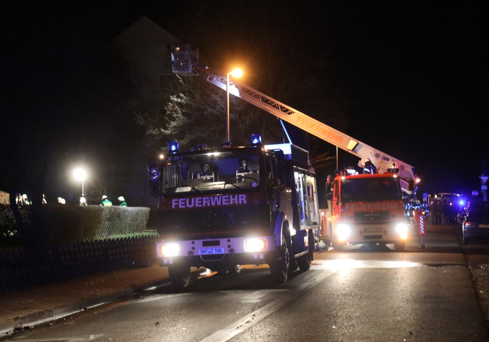 Die Feuerwehr wurde zu einem Kellerbrand nach Fümmelse gerufen.