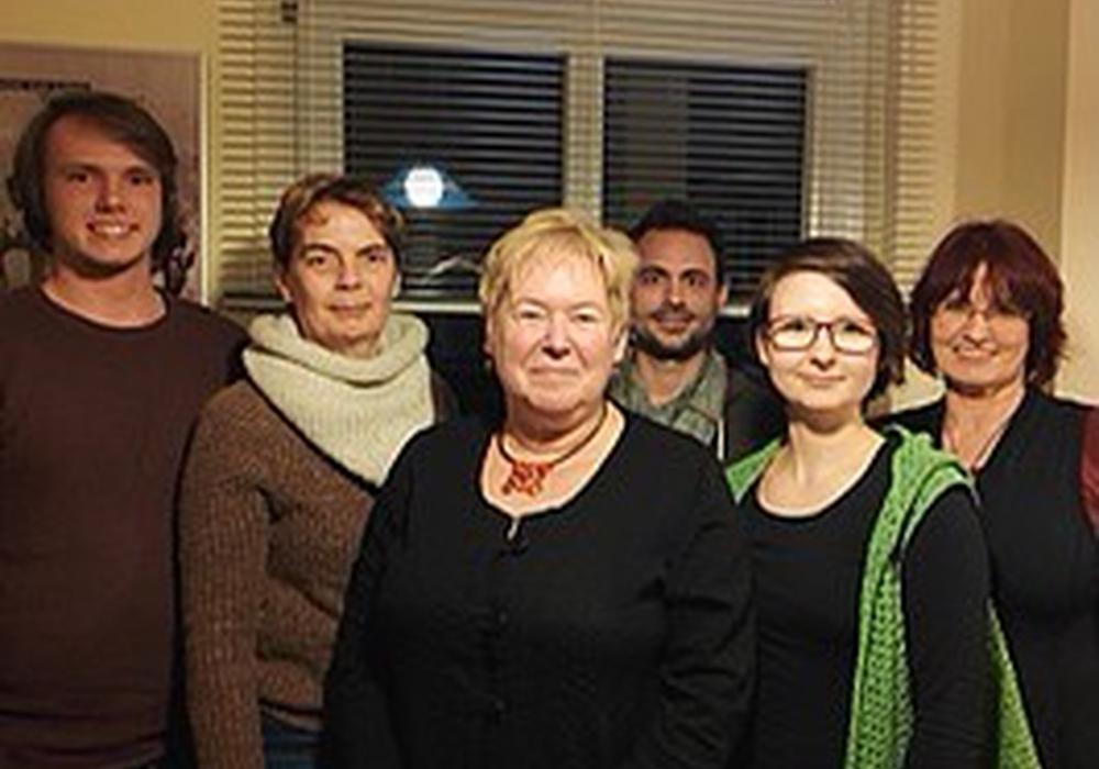 Von links: Danny Prieske, Beisitzer, Doris Maurer-Lambertz, Beisitzerin, Monika Berkhan, Kassiererin, Beisitzer Lars Kobbe, Claudia Wilke, Sprecherin, Stefanie Weigand, Sprecherin.