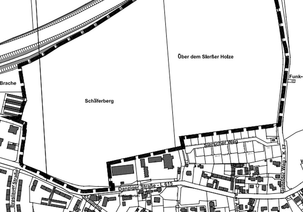 Eignet sich der Bereich Schäferberg in Salzgitter-Thiede als reines Wohn- oder Mischgebiet? Foto: Stadt Salzgitter