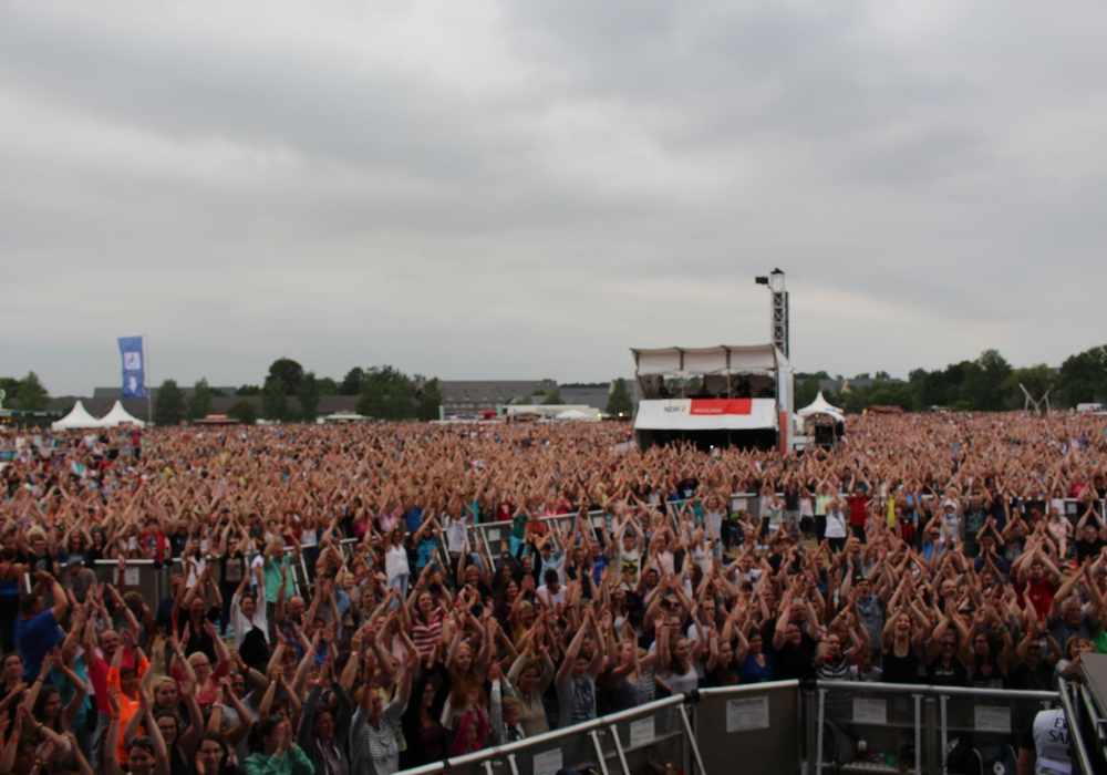 """Für das Musik-Event """"Stars@ndr2"""" werden müssen rund 10.000 Parkplätze geschaffen werden. Symbolfoto: Werner Heise"""