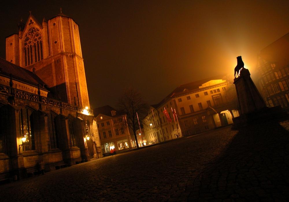 Die Taschenlampenführung eignet sich auch als besonderes Erlebnis zum Kindergeburtstag. Foto: Braunschweig Stadtmarketing GmbH / okerland-archiv