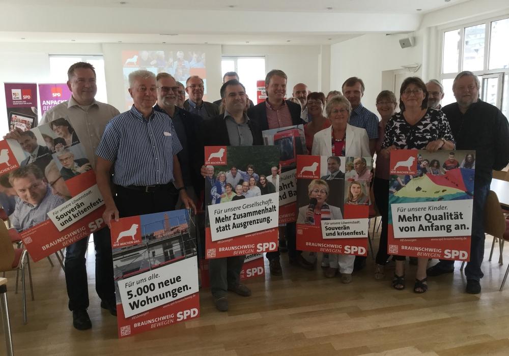 Braunschweiger SPD stellt Wahlkampagne vor. Foto: Robin Koppelmann