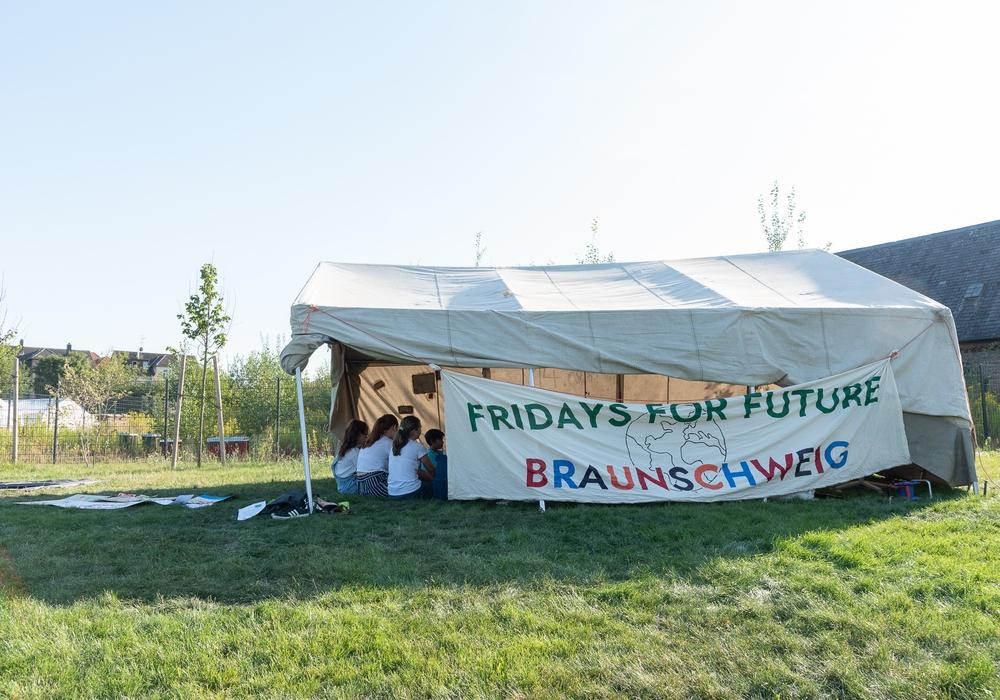 Noch bis Sonntag findet das Sommercamp statt. Fotos: Tanja Bischoff