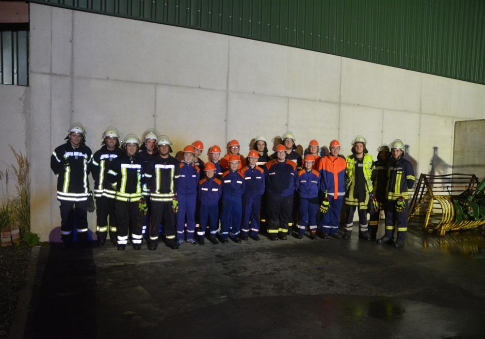 Jugendfeuerwehr absolviert 24 Stunden-Dienst Foto:Feuerwehr Cremlingen