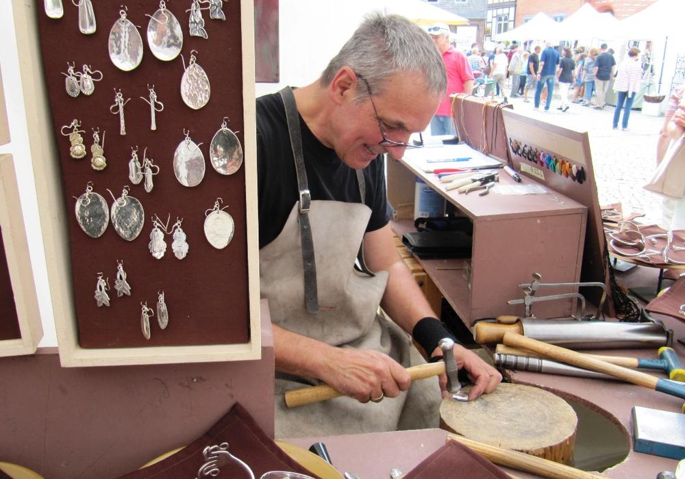 Kunsthandwerkermarkt Goslar. Foto: Goslar Marketing GmbH